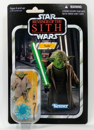 Star Wars Yoda ROTS Vintage Collection