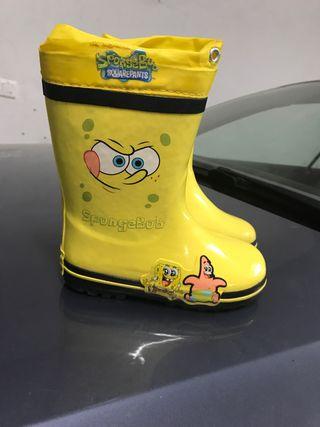 Botas de agua Bob esponja talla 27