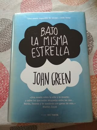 libro: BAJO LA MISMA ESTRELLA de John Green