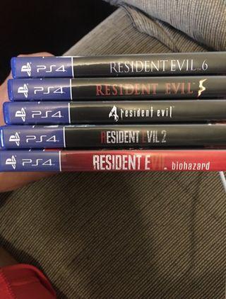 Juegos residen evil