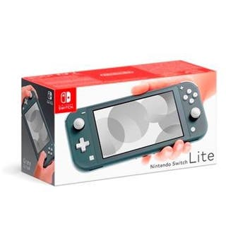 Nintendo switch lite, gris
