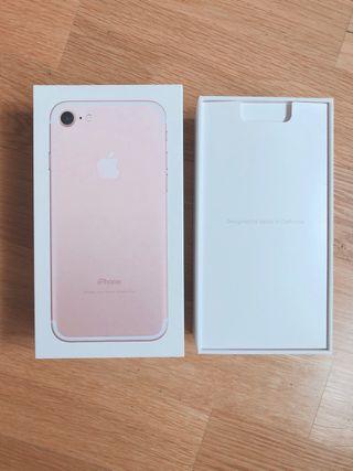 Caja iPhone 7 (con pegatinas)