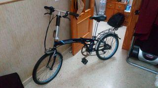 vendo bicicleta dahon plegable