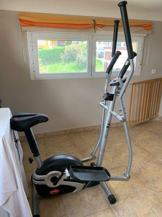 Bicicleta estática - elíptica