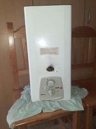 calentador de agua gas fagor