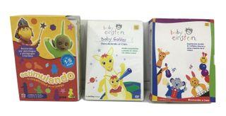 BABY EINSTEIN Y ESTIMULANDO 8 DVD NIÑOS 0 A 5 AÑOS
