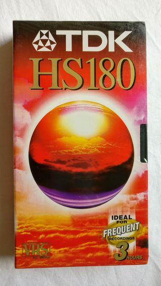 Cinta VHS Virgen HS180 (Precintado)