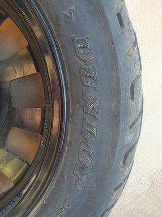 Ruedas Dunlop moto