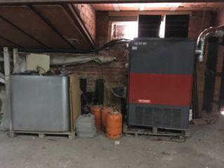 maquina de calor con deposito 900 litros