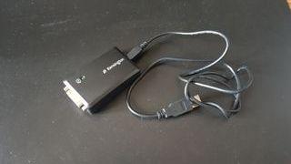 Adaptador USB DualLink a DVI