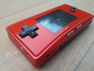 ROJO Game Boy Micro