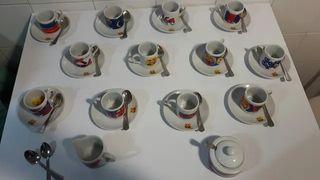Juego de cafe del Barça del Centenario