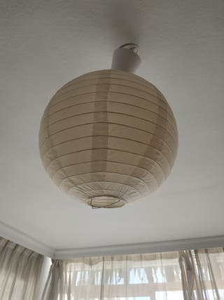 lampara de papel. 3 unidades