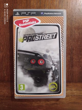 NEED FOR SPEED PRO STREET PSP - Usado, impecable