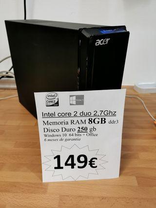 Acer Intel RAM 8Gb Windows10