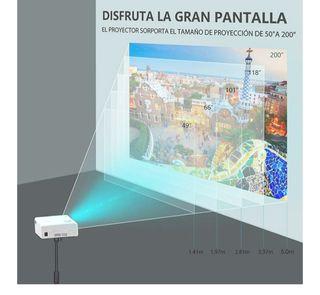 proyector 1080p.NUEVO