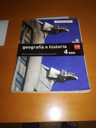 libro de geografía e historia de 4 ESO