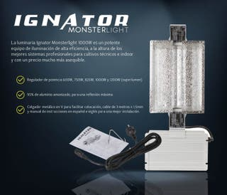 Luminaria Ignator Monsterlight HPS 1000W