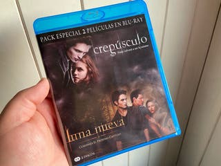 Crepúsculo + Luna Nueva Pack Bluray estado A+++