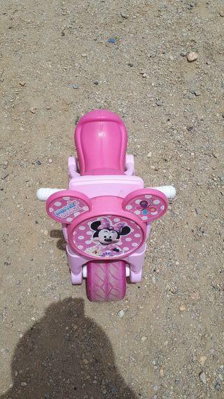moto minnie rosa con timbre
