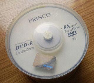 Grabadora DVD + DVD's + CD's