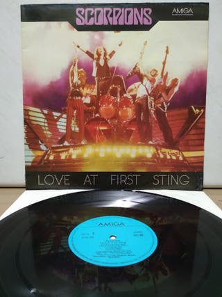 Scorpions - Love At First Sting 1984 GER ( RDA )