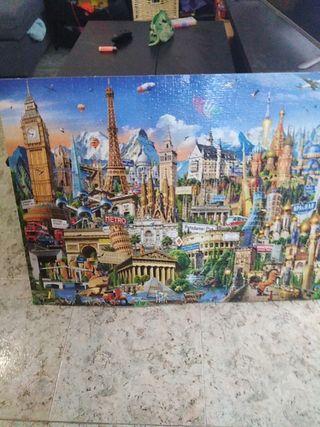 Puzzle 2000 piezas montado