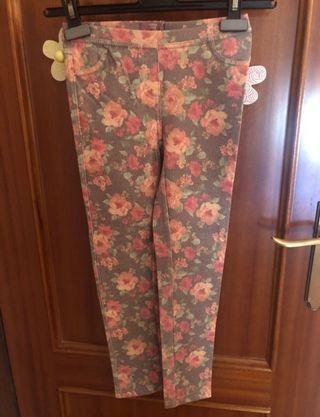 Pantalones niña Mango