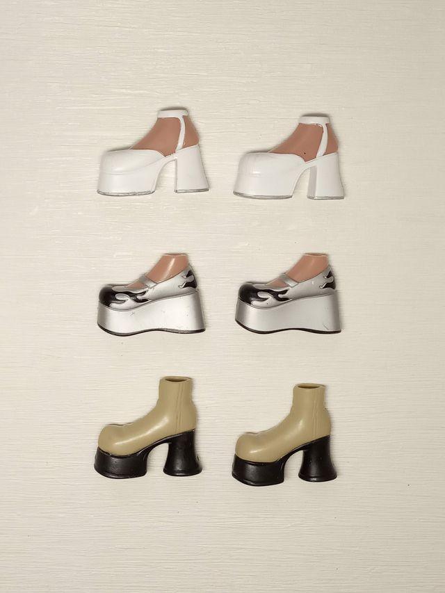 Bratz Lote Zapatos Shoes Pack Struttin' Style