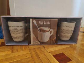 tazas MUG CAKES deliciosos bizcochos