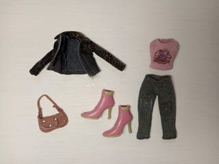 Conjunto Bratz Model Behaviour Fashion Pack