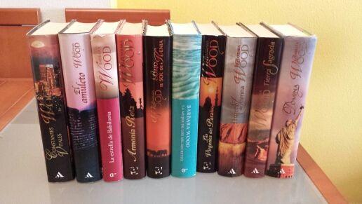 Pack de libros de Bárbara Wood