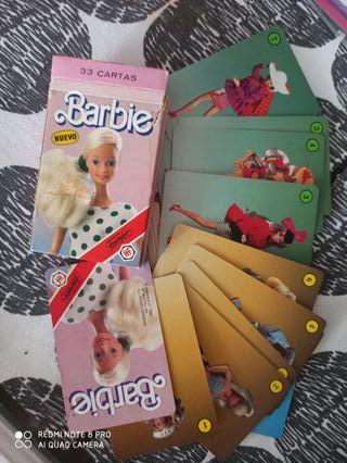 barbie baraja cartas fournier