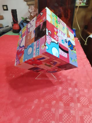 18 Puzzle Cubo 3D Hello Kitty