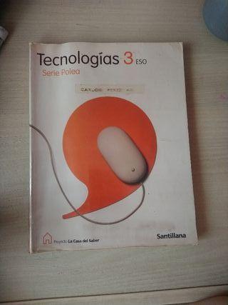 Tecnologías serie polea, Santillana, 3°ESO