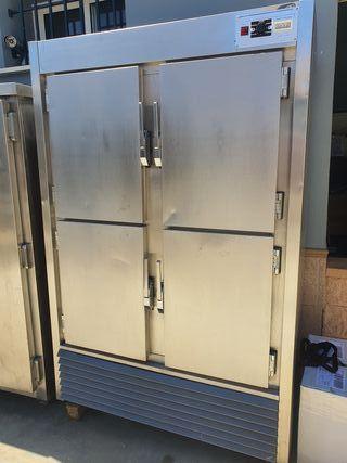 cámara frigorífica 4 puertas botellero