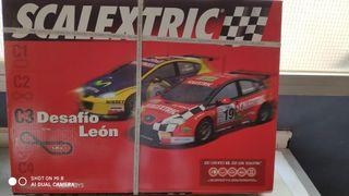 Circuito Scalextric Leon