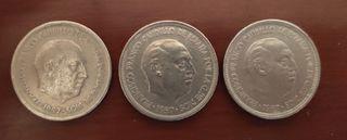 5 pesetas de 1957