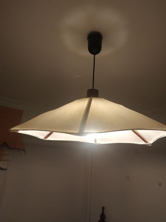 lampara de tela