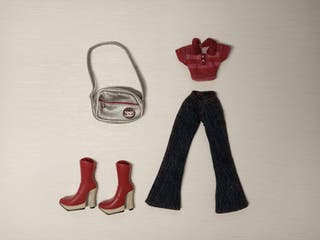 Conjunto Bratz Punk N Prep Fashion Pack