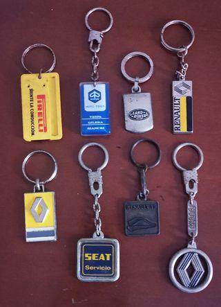 Llaveros de colección - coches y motos.