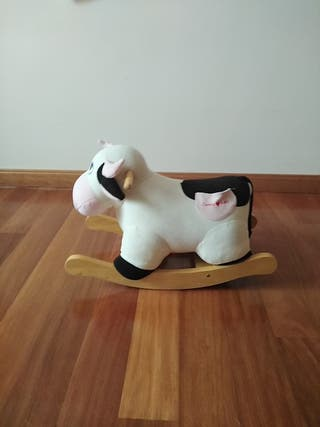 balancín vaca bebé