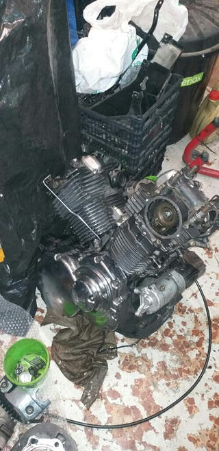 Despiece motor yamaha drag star 1100