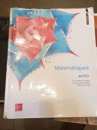 Libro de Matemáticas de 2 de la ESO