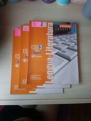 Lengua y literatura, Bruño, 3°ESO