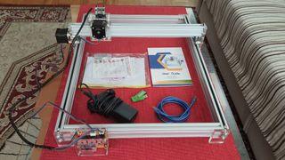 Grabador láser, máquina CNC, 300mW.