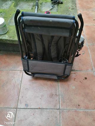 mochila con silla