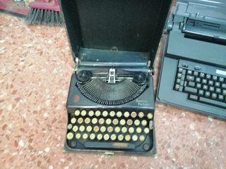 lote máquinas escribir remington/olivetti