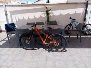 Vendo bicicleta megamo con disco de freno