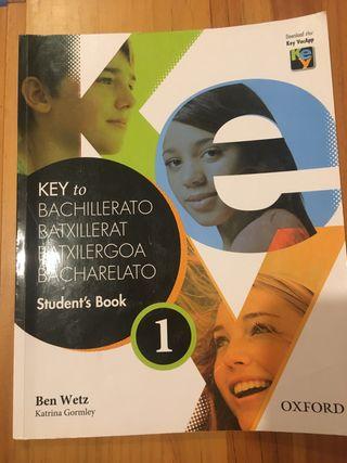 Key to bachillerato Student's Book